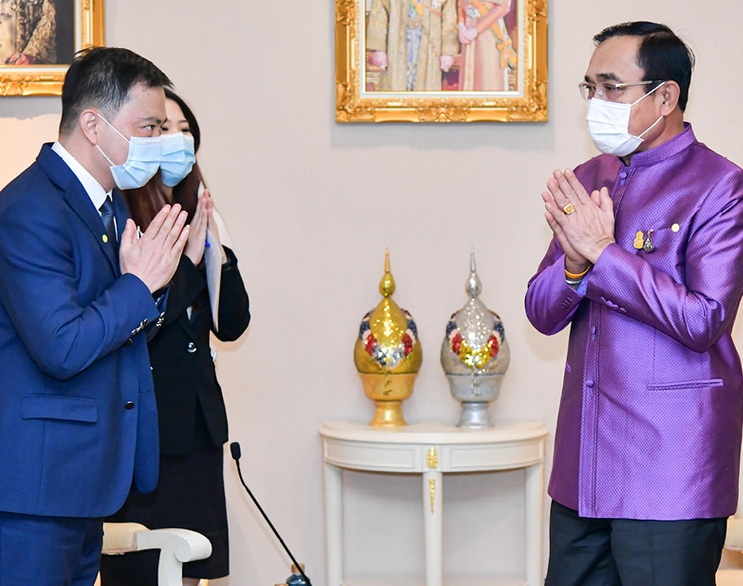 เกรท วอลล์ มอเตอร์ พบนายกฯ หวังดันไทยเป็นศูนย์กลางผลิตและส่งออกรถยนต์ไฟฟ้าในอาเซียน